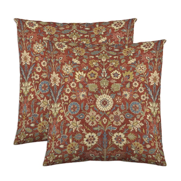 Indira 18-inch Throw Pillow (Set of 2)