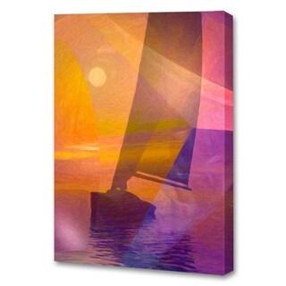 Menaul Fine Art's 'Sunset Sail' by Scott J. Menaul