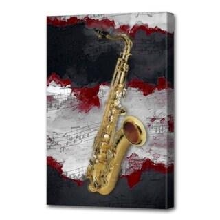 Menaul Fine Art's 'Jazz Sax Red' by Scott J. Menaul