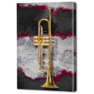 Menaul Fine Art's 'Jazz Trumpet Red' by Scott J. Menaul