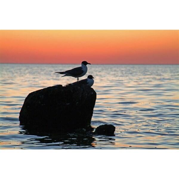 Menaul Fine Art's 'Sunset Birds' by Scott J. Menaul