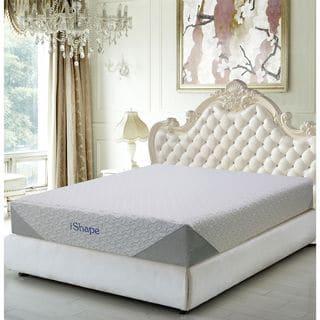 iShape Jasmine 10-inch King-size Memory Foam Mattress