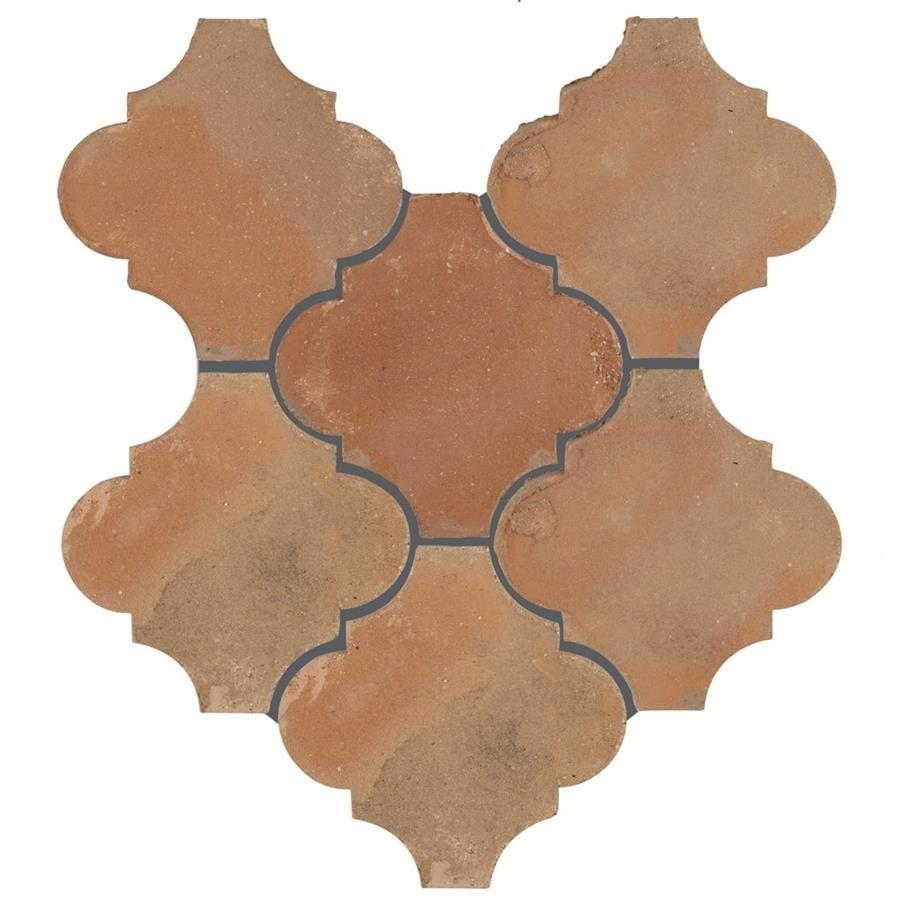 Somertile 6x6-inch Tres Valles Morocco Spanish Terra Cott...