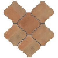 SomerTile 6x6-inch Tres Valles Morocco Spanish Terra Cotta Paving Tile (6 tiles/1 sqft.)