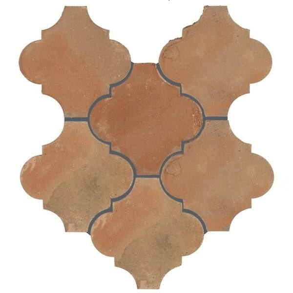 Shop SomerTile 6x6-inch Tres Valles Morocco Spanish Terra Cotta