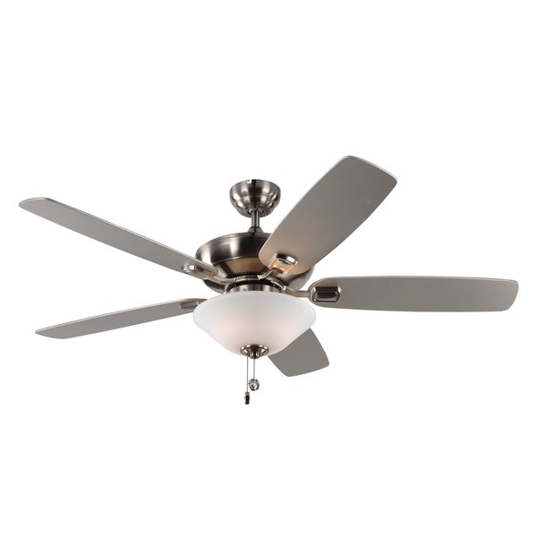 Monte Carlo Colony Max Plus 5 Blade Brushed Steel Ceiling Fan Free Today Little