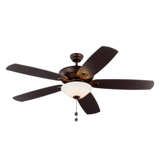 Monte Carlo Colony Super Max Plus 5 Blade Roman Bronze Ceiling Fan