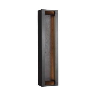 Feiss Mattix 4 Lights Oil Rubbed Bronze Wall Lantern