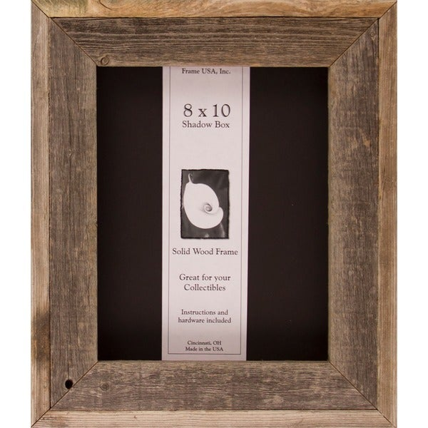 Barnwood Shadow Box (8 x 10) - Free Shipping On Orders Over $45 ...