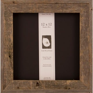 Barnwood Shadow Box (12 x 12)