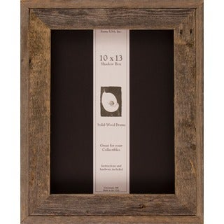 Barnwood Shadow Box (10 x 13)
