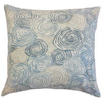 Blakesley Graphic Down and Feather Filled 18-inch Throw Pillow