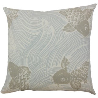 Ailies Graphic Down and Feather Filled 18-inch Throw Pillow
