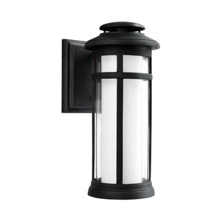 Feiss StoneStrong 1 - Light Outdoor Wall Lantern, Dark Weathered Zinc