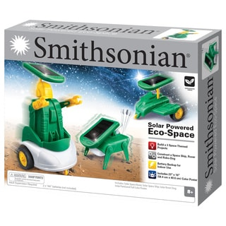 Smithsonian Solar Powered Eco Space Toy Kit