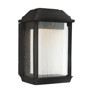 Feiss McHenry 1 Lights Textured Black Wall Lantern