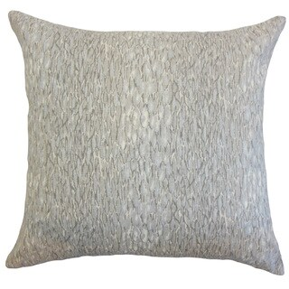 Galen Graphic Linen Down and Feather 18-inch Throw Pillow