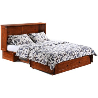 Murphy Cabinet Bed with Queen Memory Foam Mattress