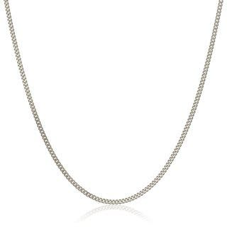 Pori Italian 18k White Gold Cuban Chain Necklace https://ak1.ostkcdn.com/images/products/11089596/P18096548.jpg?impolicy=medium