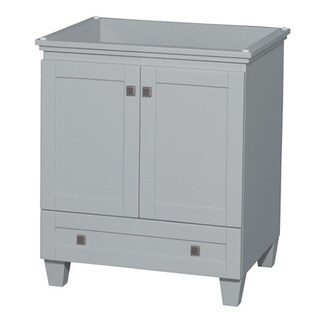 Wyndham Collection Acclaim 30-inch Oyster Grey Single Vanity