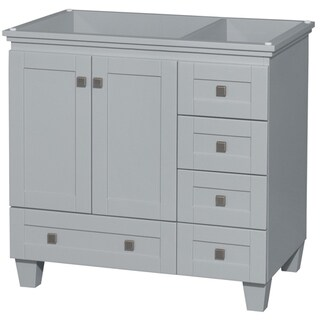 Wyndham Collection Acclaim 36-inch Oyster Grey Single Vanity