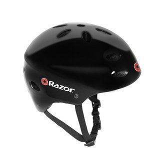 Razor V17 Youth Gloss Black