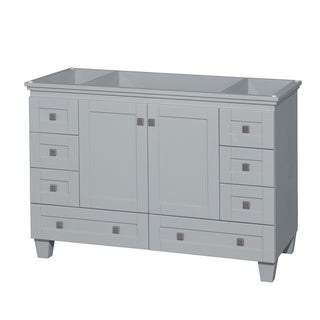 Wyndham Collection Acclaim 48-inch Oyster Grey Single Vanity