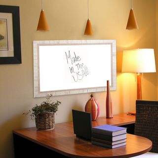 American Made Rayne Tuscan Ivory Dry Erase Board (More options available)