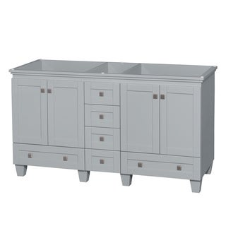 Wyndham Collection Acclaim 60-inch Oyster Grey Double Vanity