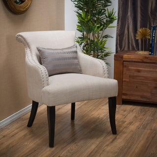 Filmore Fabric Arm Chair by Christopher Knight Home (2 options available)