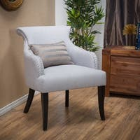 Filmore Fabric Arm Chair by Christopher Knight Home