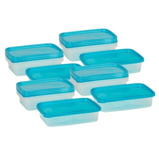16pcs rectangular food storage set