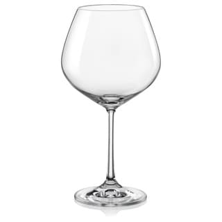 Red Vanilla Viola Burgundy 19-Ounce Wine Glass (Set of 6)