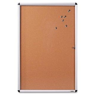 Lorell Enclosed Cork Bulletin Board - (1/Each)