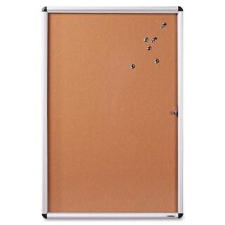 Lorell Enclosed Cork Bulletin Board - (1/Each)