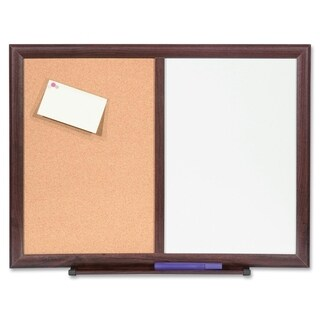 "Lorell 24""x18"" Dry-Erase/Bulletin Combo Boards - (1/Each)"