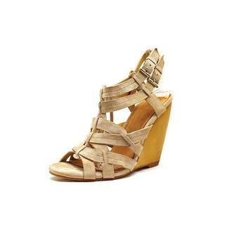 Madison Harding Women's 'Veronique' Regular Suede Sandals