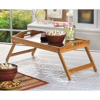 Modern Easy-Fold Wooden Tray