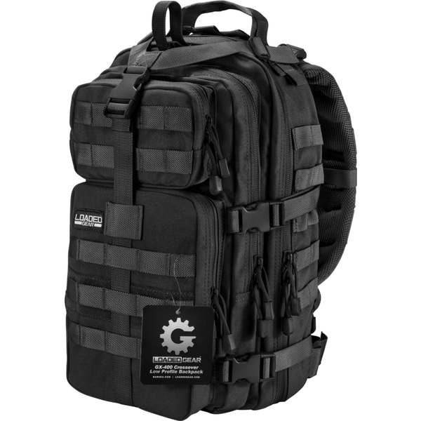 Loaded Gear GX-400 Black Crossover Backpack