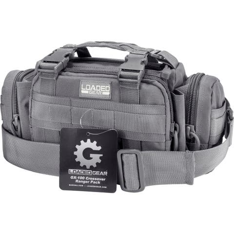 Barska Loaded Gear GX-100 Crossover Ranger Pack (Grey)
