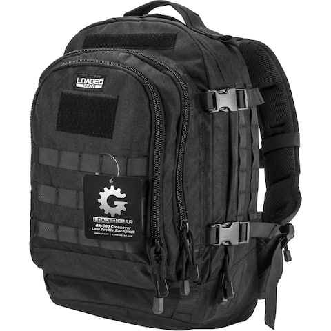 Barska Loaded Gear GX-500 Black Crossover Backpack