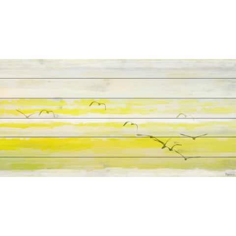 Parvez Taj - Winterton Painting Print on White Wood