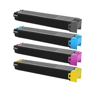 1Set DX-C40NTB DX-C40NTC DX-C40NTM DX-C40NTY Compatible Toner Cartridge For Sharp DX C310 C310FX C311 C311FX ( Pack of 4 )