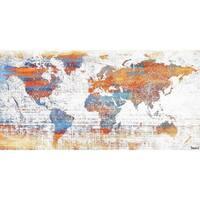"Parvez Taj - ""Warm World"" Painting Print on Canvas"