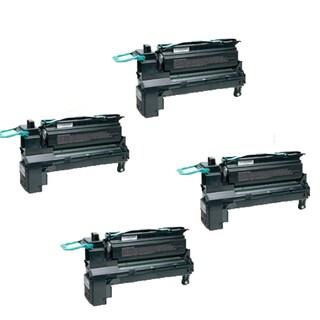 4-pack Compatible C792X2KG ( C792X1KG ) Toner Cartridge For Lexmark C792DE C792DTE C792E C792DHE (Pack of 4 )