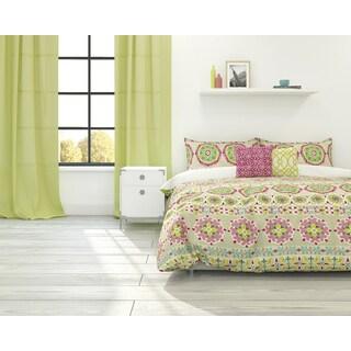 Bliss Cotton 3-piece Duvet Cover Set