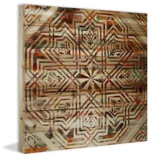 Parvez Taj - Dore Painting Print on Natural Pine Wood