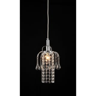 Warehouse of Tiffany Joey 1-light Crystal Chrome Chandelier
