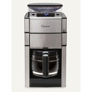 Capresso CoffeeTEAM PRO Plus 12-Cup Glass Carafe Coffee Maker/Grinder Combo
