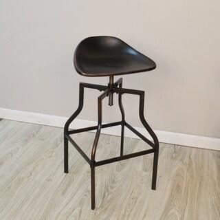 Hoffman Adjustable Scoup Seat Stool